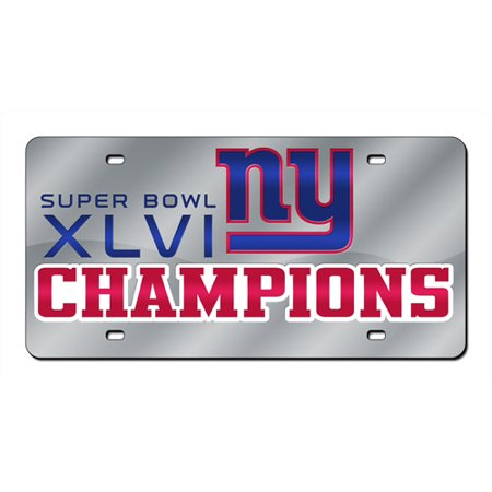 Super Bowl XLVI Champion New York Giants - Laser Tag