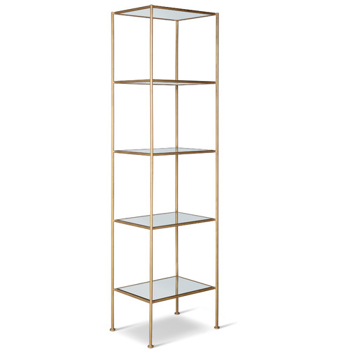 Corsican 84'' Etagere Bookcase by