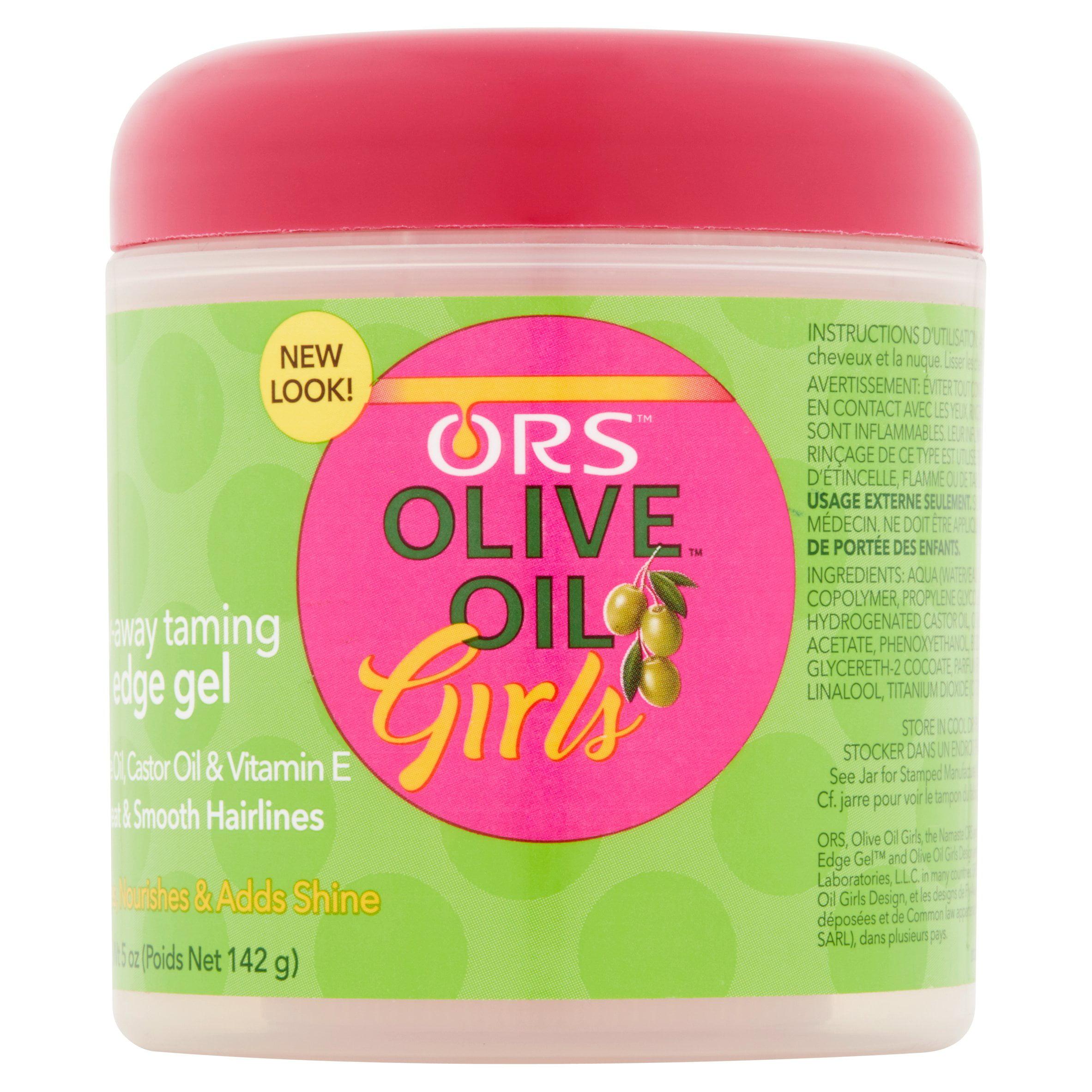 ORS Olive Oil Girls Fly-Away Taming Hair Gel, 5 oz - Walmart.com