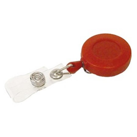 Plastic ID Badge Retriever with Belt Clip - image 1 of 1