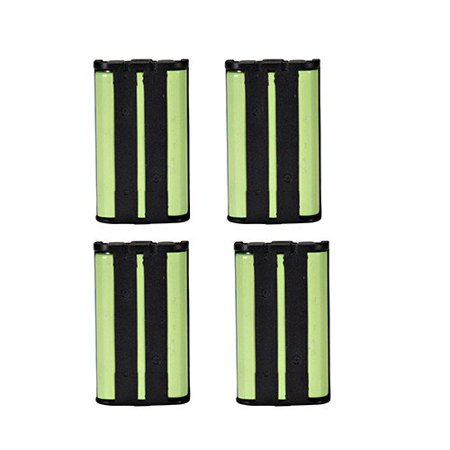Panasonic HHR-P104 Cordless Phone Combo-Pack includes: 4 x UL104 Batteries Panasonic Cordless Battery