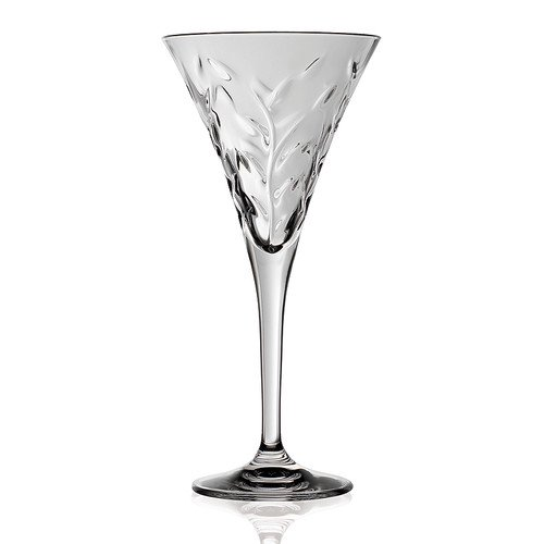Lorren Home Trends Laurus Rcr 6 Oz Crystal Martini Glass Set Of 6 Walmart Com Walmart Com
