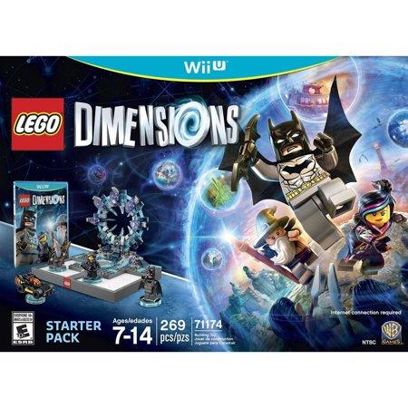 Lego Dimensions Starter Pack   Nintendo Wii U