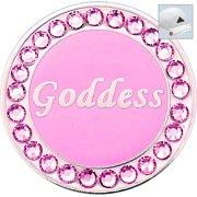 Bella Crystal Golf Ball Marker & Hat Clip - Goddess