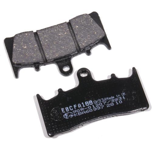 EBC Organic Brake Pads Front (2 sets required) Fits 01-05 Suzuki Bandit 1200 GSF1200S