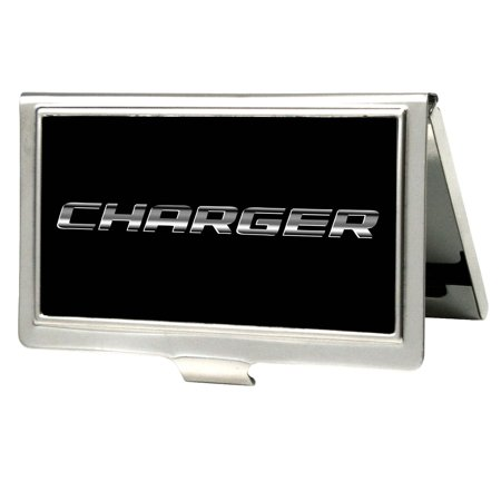 Ford Automobile Company Metallic Charger Business Card Holder