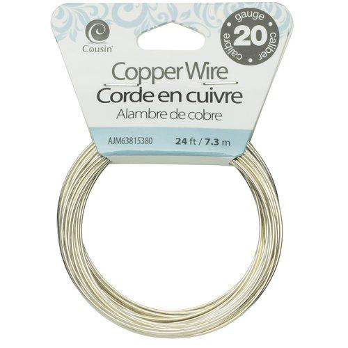 Cousin 20G Silver Copper Wire, 24'