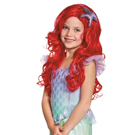 Ariel Ultra Prestige Child Wig - Ariel Little Mermaid Wig