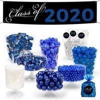 Blue Graduation Candy Buffet Class of 2020 (Approx 14lbs) - Feeds 24-36