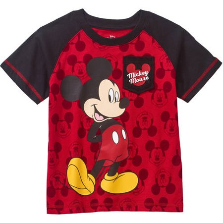Mickey Mouse Toddler Boy Graphic Short Sleeve T Shirt