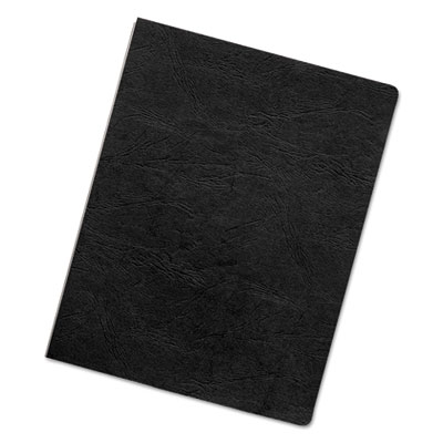 Executive Presentation Binding System Covers, 11-1 4 x 8-3 4, Black, 200 Pack, Sold as 1 Package, 200 Each per... by