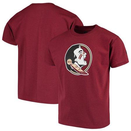 Florida State Seminoles Russell Youth Oversized Graphic Crew Neck T-Shirt - Garnet
