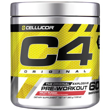Cellucor C4 Original Pre Workout Powder, Fruit Punch, 60