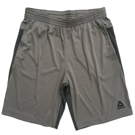 (Reebok Mens Speedwick Speed Shorts (Two-tone Heather Gray, Medium))