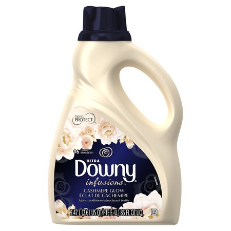 Downy Ultra Infusions Liquid Fabric Conditioner, Cashmere Glow, 96 Loads 83 fl oz](Ultra Glow)
