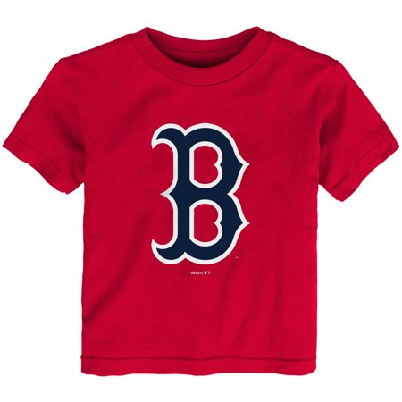 Boston Red Sox Toddler MLB Primary Logo T-Shirt - Red Boston Red Sox Center