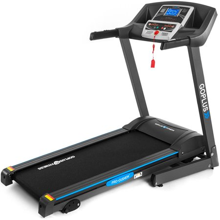 Goplus 2.25HP Folding Electric Treadmill Motorized Power Running Machine Fitness
