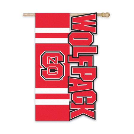 Team Sports America Collegiate Sculpted Garden Flag