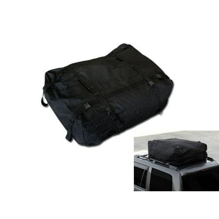 RL Concepts BLACK WATERPROOF ROOF TOP CROSS BAR RACK CARGO CARRIER BAG CAR/SUV/TRUCK/VAN