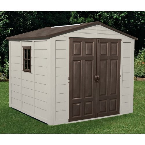 Suncast 7.5' x 7.5' Outdoor Storage Building / Shed