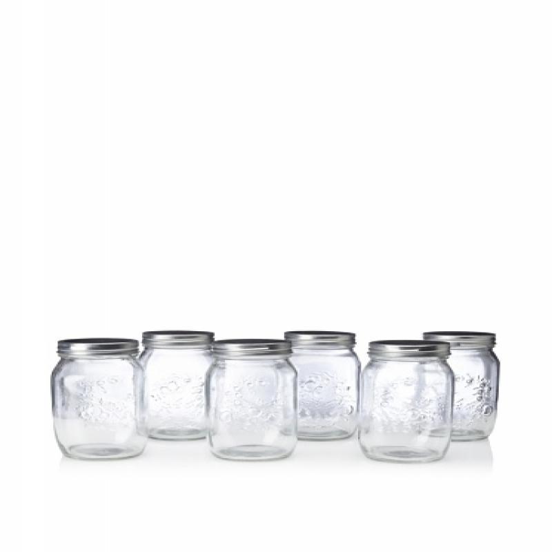 Home Essentials Preserving Essentials Set of 3 Canning Jars