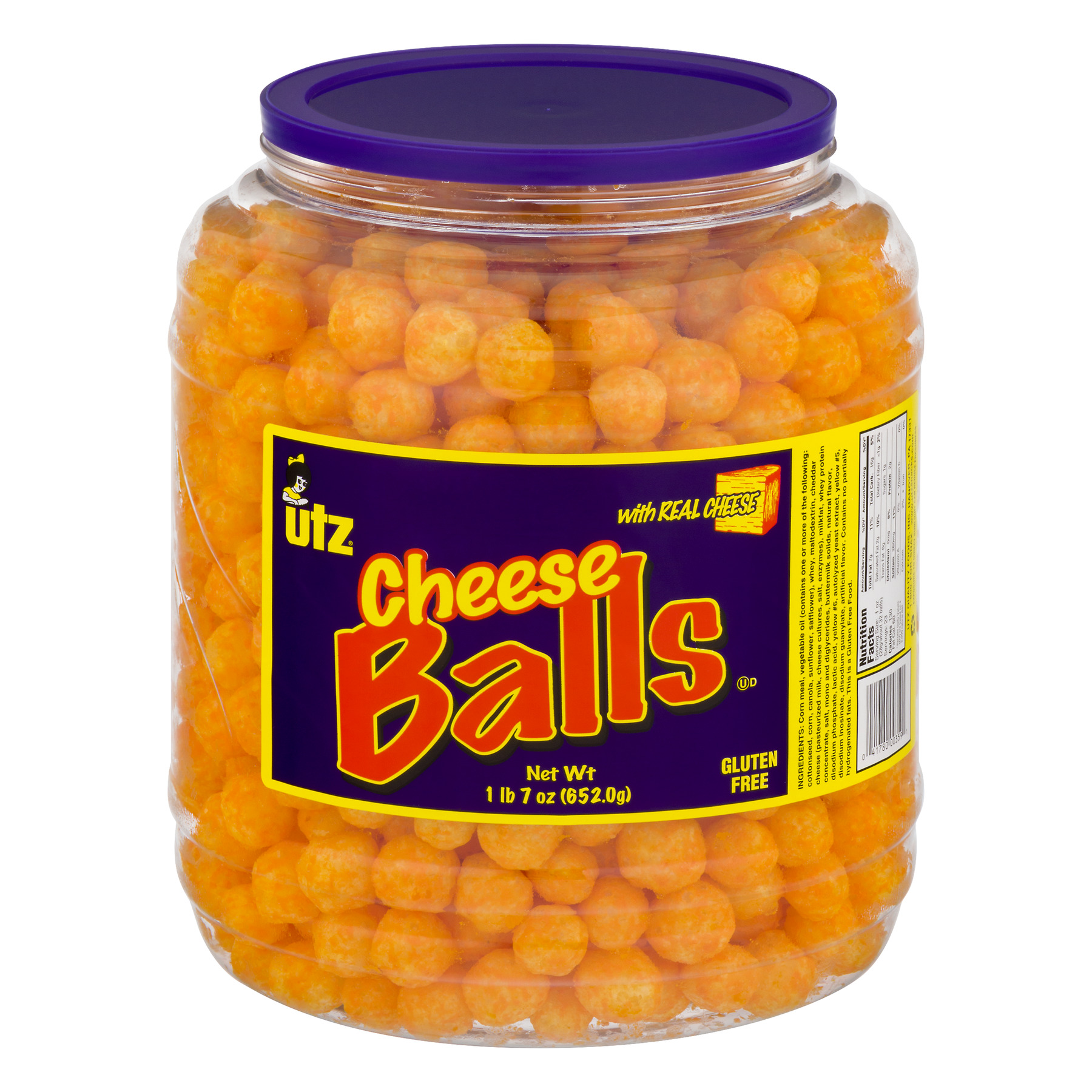 Utz CheeseBalls, 23.0 OZ