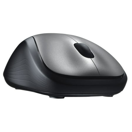 Logitech Full Size Wireless Mouse - (Silver Rf Wireless Optical Mouse)