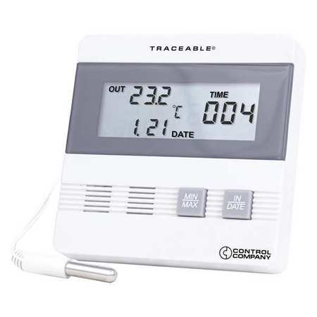 TRACEABLE 4105 Digital Therm, Time/Date Max/Min Memory