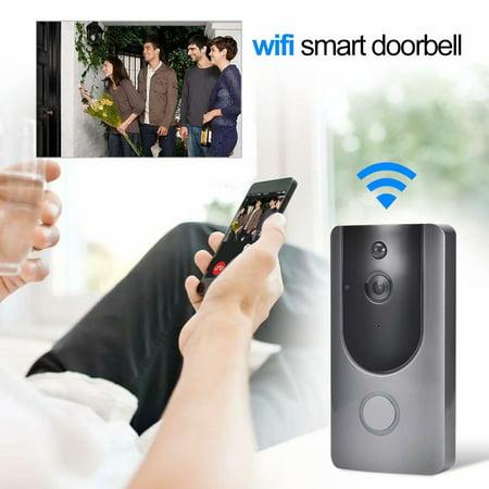 Noroomaknet Doorbell Camera Wireless,Smart Video Door Bell