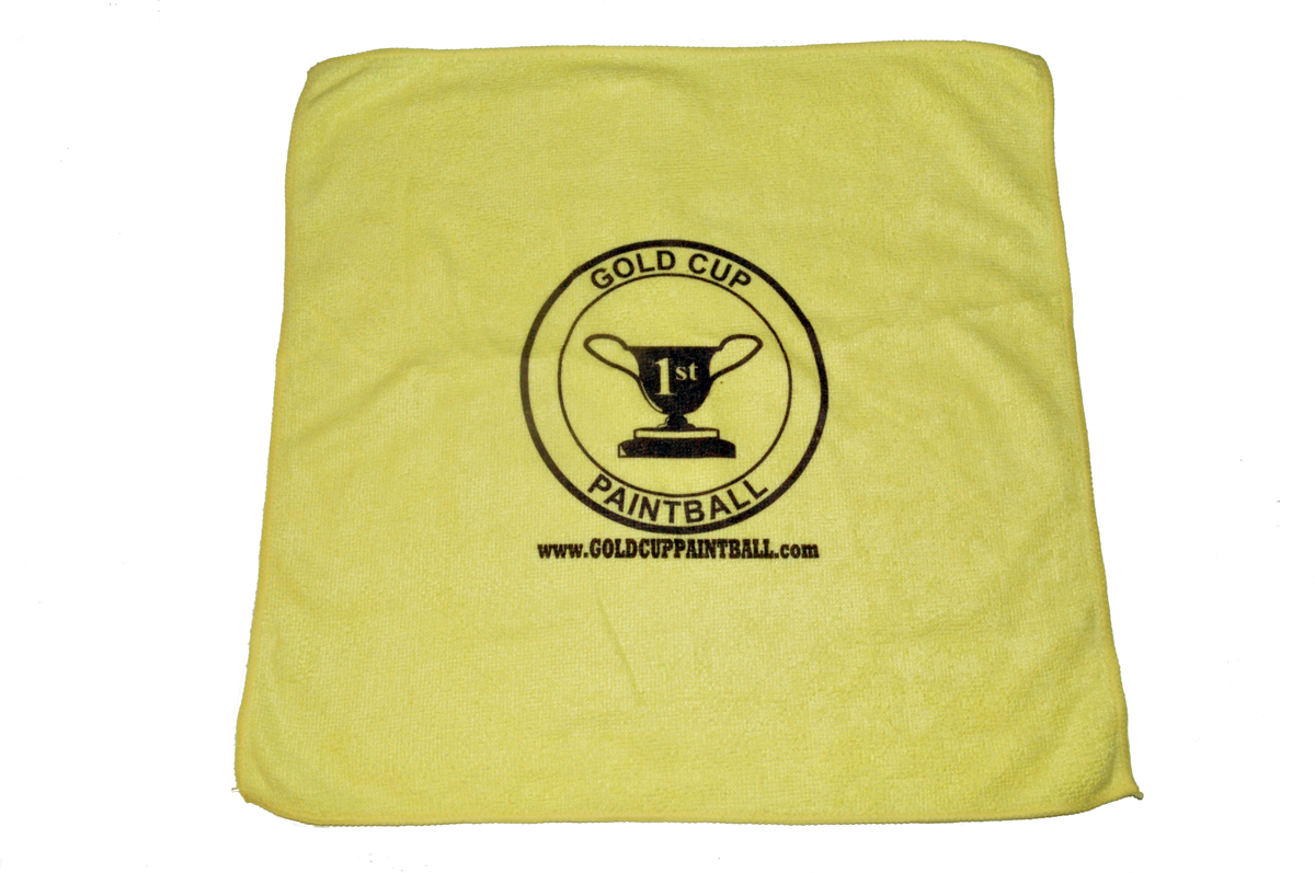 """Gold Cup Paintball Microfiber Gun and Goggle Cloth 15""""X15"""" by"""
