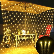 LED String Fairy Lights Net Mesh Curtain Xmas Wedding Party Christmas Decor 110V 1.5*1.5M