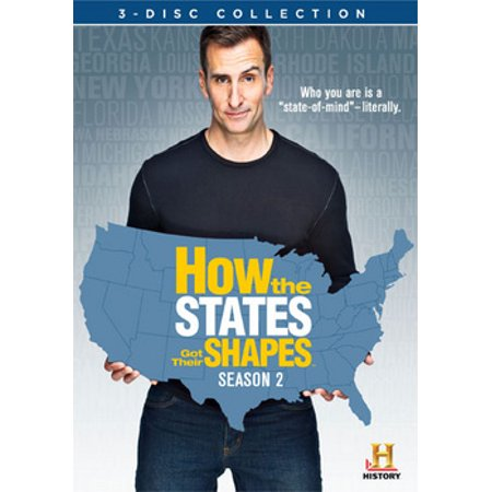 How the States Got Their Shapes: Season 2 (DVD) (Best Seasons Of Got)