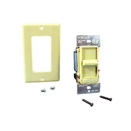 Leviton Decora Slide Light Dimmer Switch Low Voltage Ivory 600VA 450W 6611-PI Ivory Decora Slide