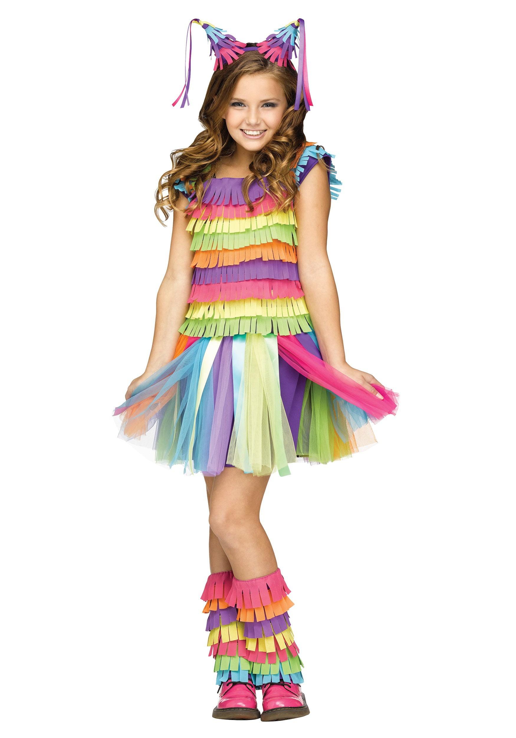 girl's pinata costume - walmart