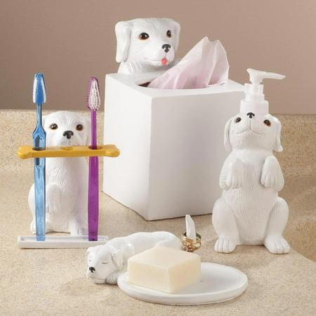 Dog Bathroom Accessories Set Of 4 By Oakridgetm