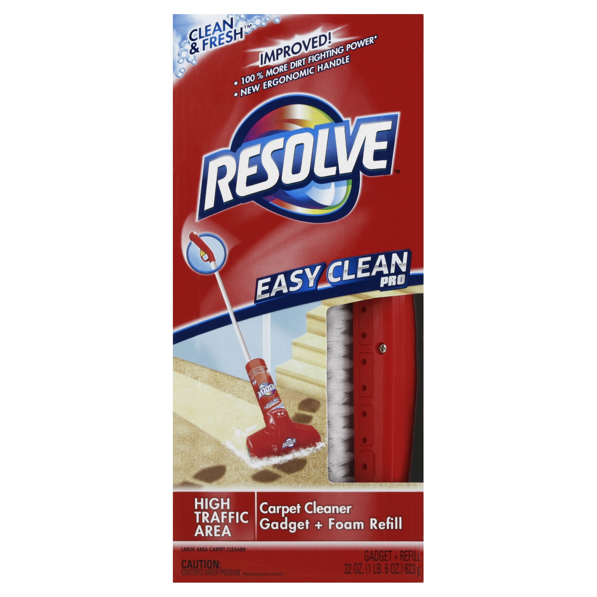 Resolve Easy Clean Pro Carpet Cleaner, 2 Count