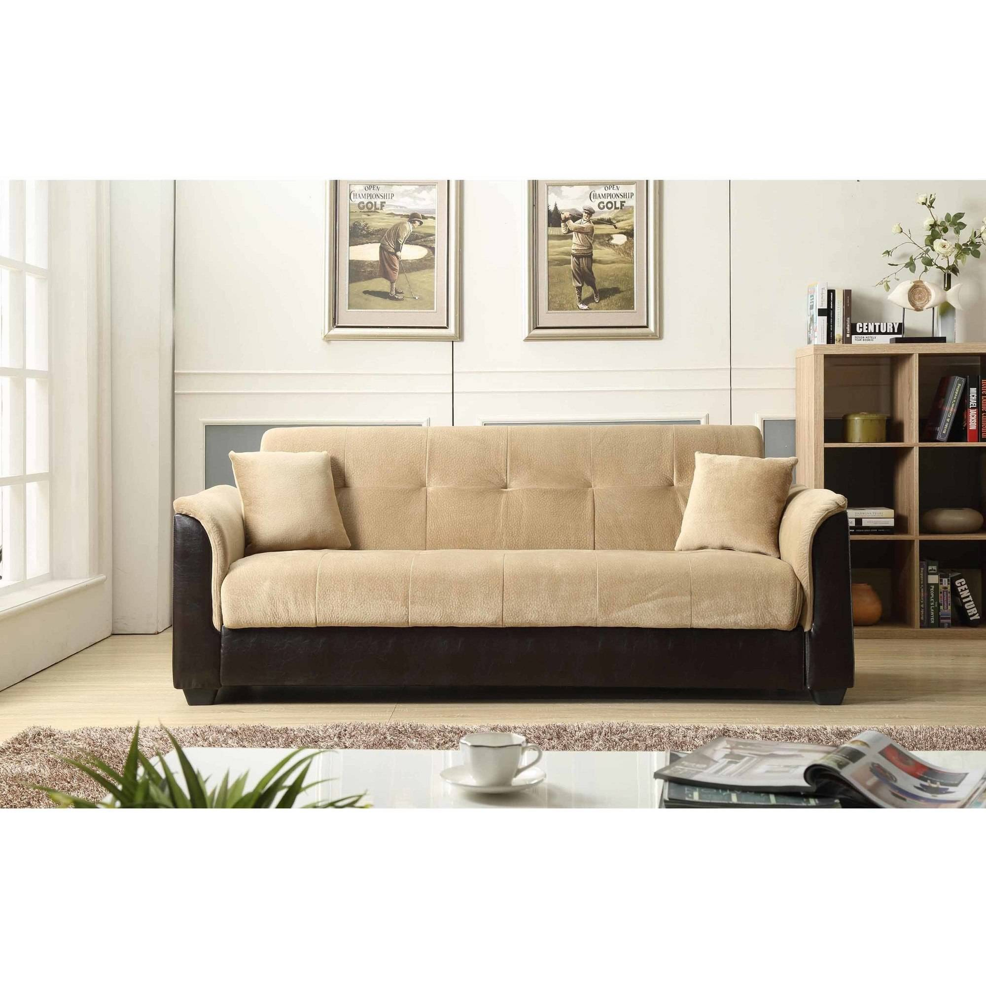 Picture of: Nathaniel Home Melanie Champion Sofa Bed With Storage Multiple Colors Walmart Com Walmart Com