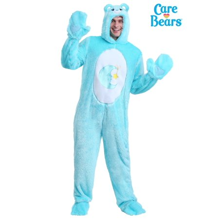 Care Bears Halloween Costume Ideas (Care Bears Adult Classic Bed Time Bear)