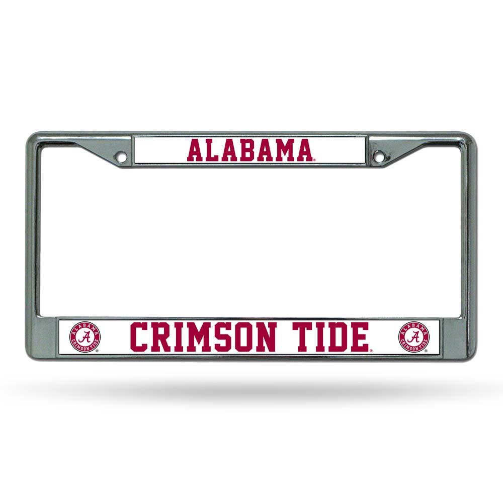 Alabama Crimson Tide Official NCAA License Plate Frame by Rico Industries 362669