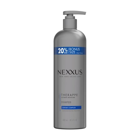 Nexxus Therappe for Normal to Dry Hair Moisture Shampoo, 16.5 oz Dry Hair Rose Shampoo