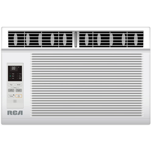 RCA RACE1202E 12,000-BTU Energy Star Qualified Window Air Conditioner, White