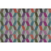 "The Rug Market Illusion Block 2.8"" x 4.8"" Area Rug"