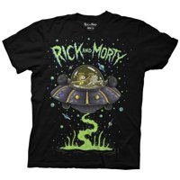 Ripple Junction Rick and Morty Adult Unisex Ship Dumping Crew T-Shirt