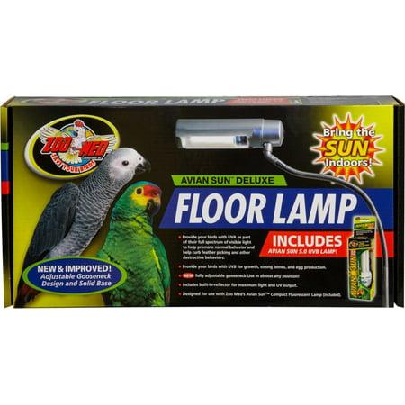 Aviansun Deluxe Floor Lamp With Avian Sun Walmart Com