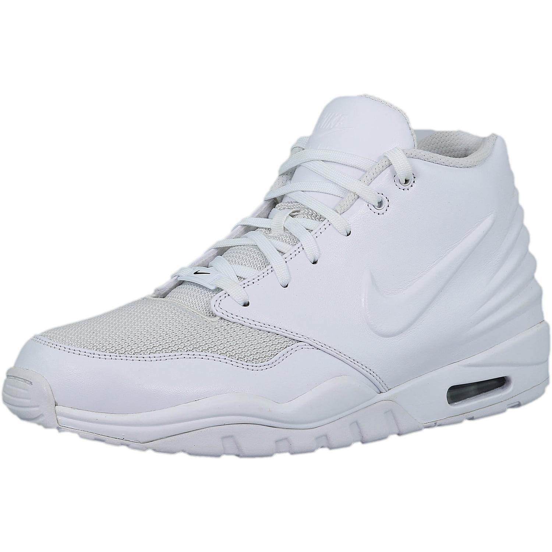 Nike Men s Air Entertrainer White   White-Black Ankle-High Leather Fashion  Sneaker - 11M 1f46d84f6e6