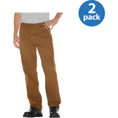 Dickies Big Mens Relaxed Fit Duck Carpenter Jean, 2 Pack