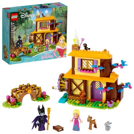 LEGO Disney Aurora's Forest Cottage Great Sleeping Beauty Building Toy for Kids 43188
