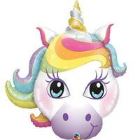 "Magical Unicorn Super Shape Foil Balloon 38"""