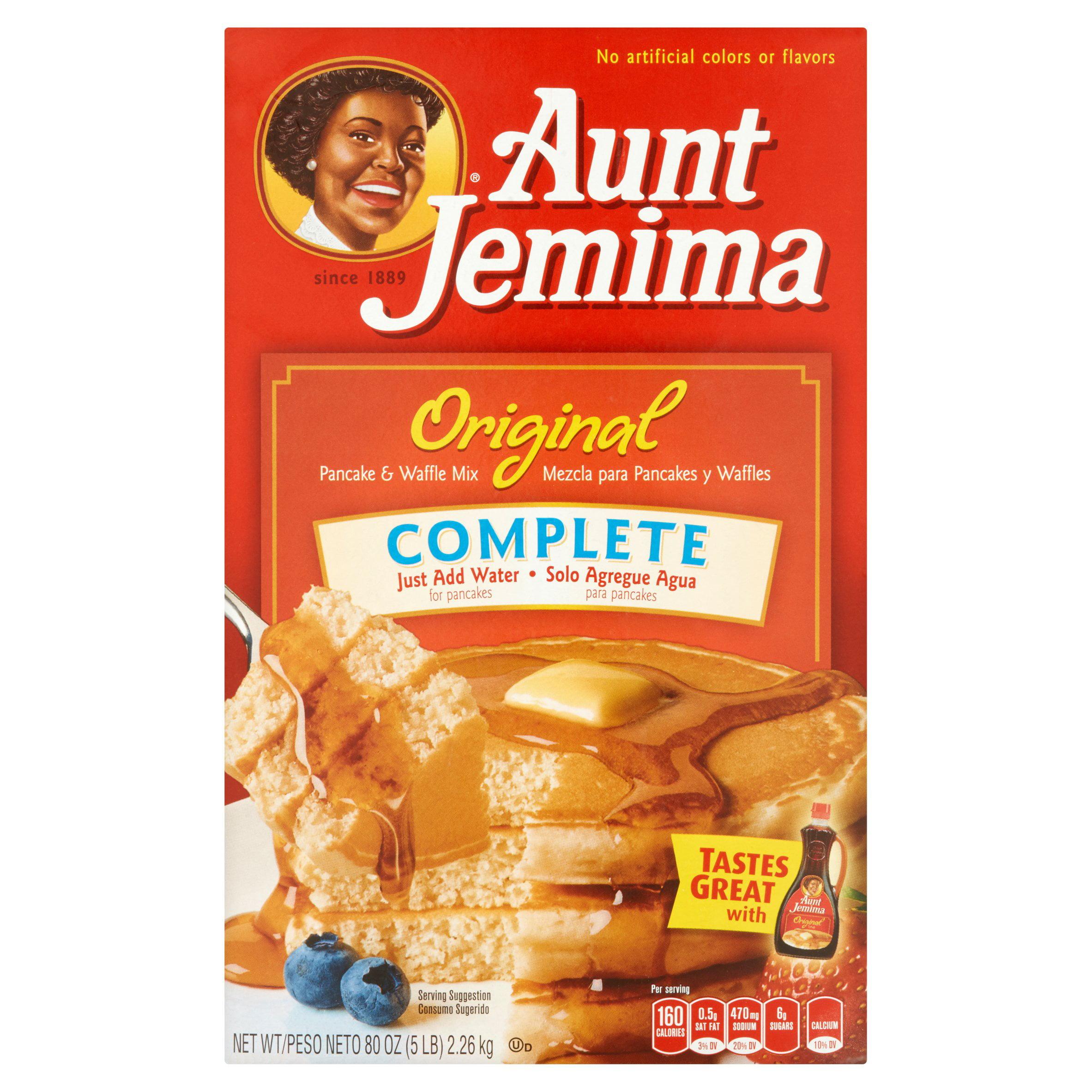 Aunt Jemima Original Complete Pancake & Waffle Mix, 80 oz by The Quaker Oats Company