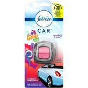 Febreze Car Vent Clip Moonlight Breeze with Gain Air Freshener, 0.06 oz